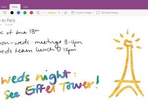 windows ink effects screen