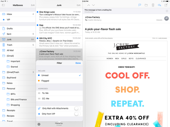Mail in iOS 10: Under-the-radar changes make your inbox ...