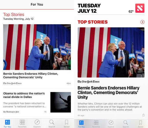 ios 10 news app ios 9