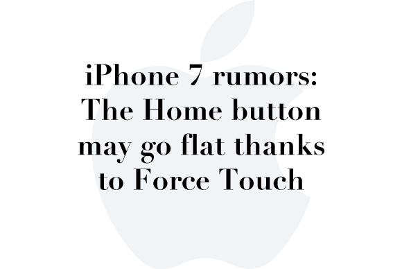 iphone 7 rumor home button