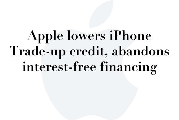 iphone trade credit