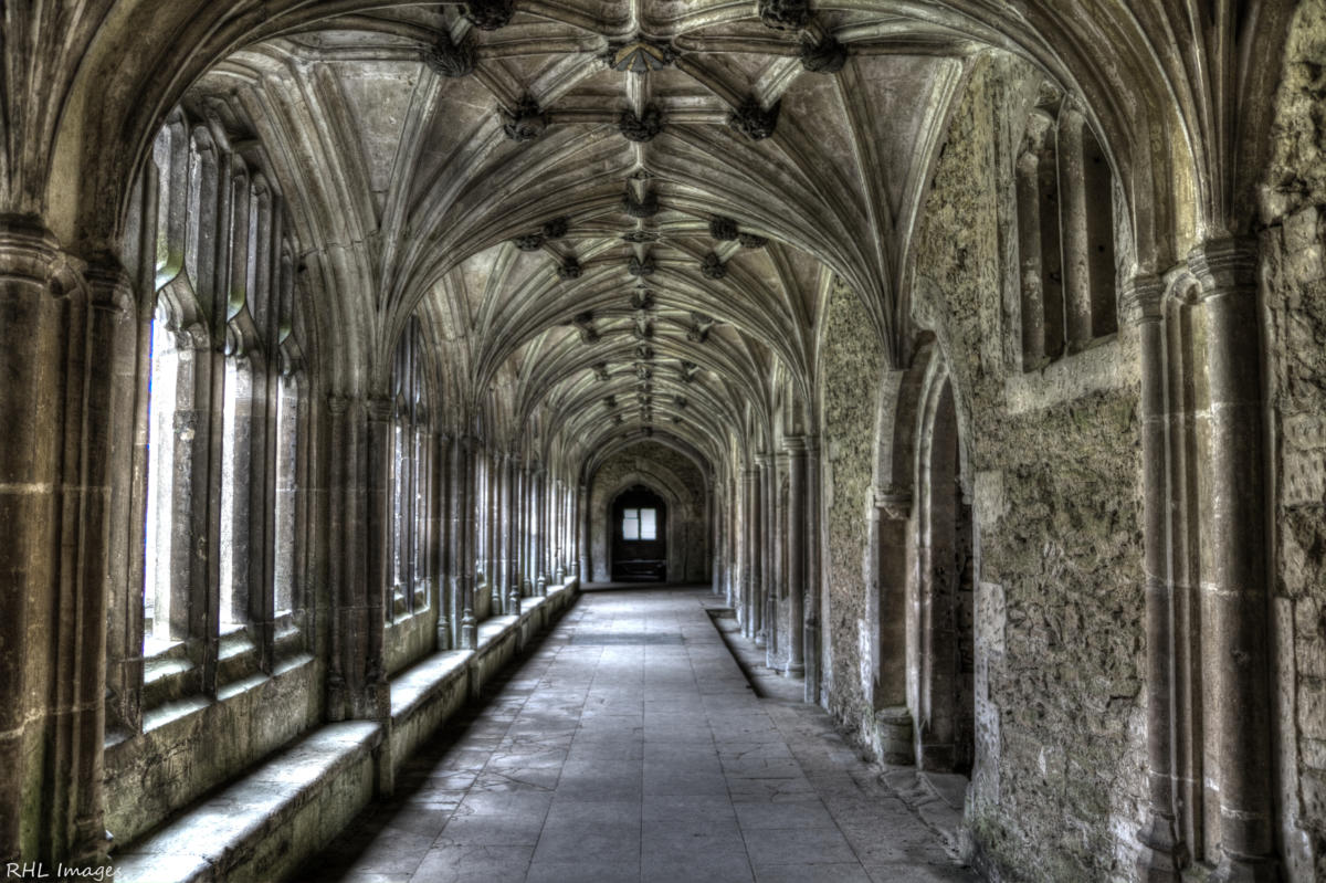 lacock abbey cloisters harry potter