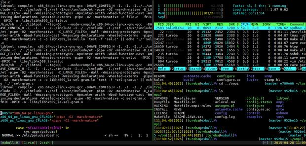 linux terminal Terminal managing