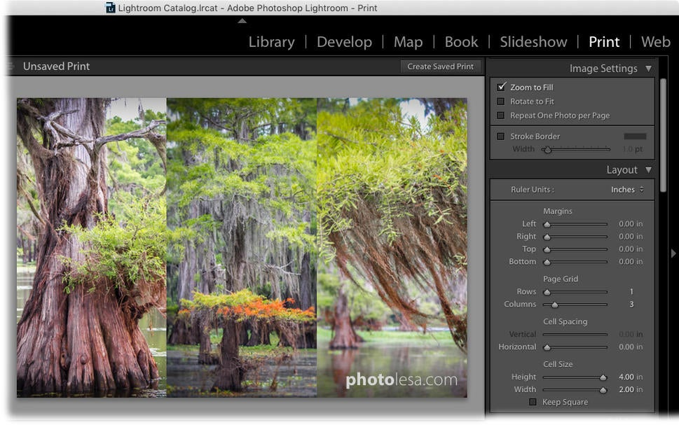 How to create a photo grid template in Lightroom | Macworld