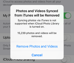 mac911 remove itunes sync ios images