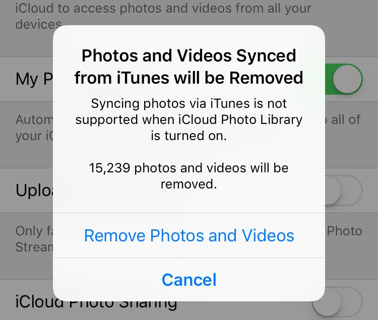 How to turn on iCloud Photos when iOS says you can't | Macworld