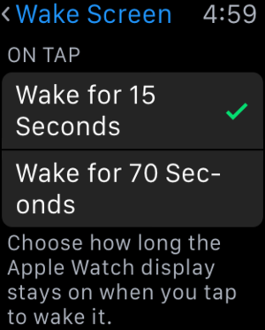 mac911 wake 70 seconds
