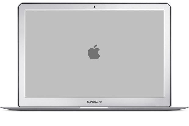 how to fix split screen on macbook air