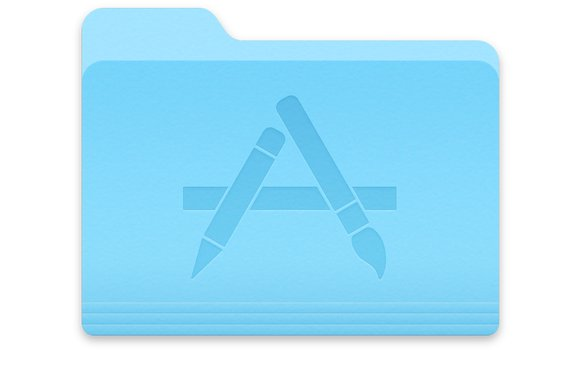 macos application folder icon