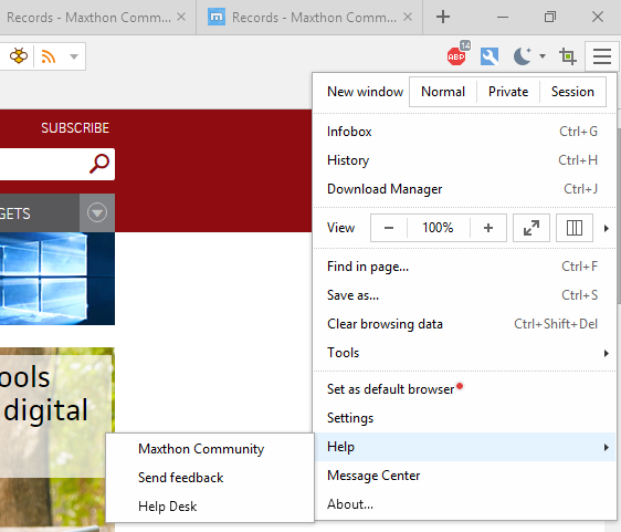 Maxthon Mx5 Review Rough And Ready Browser Offers Paid Features For Free Pcworld