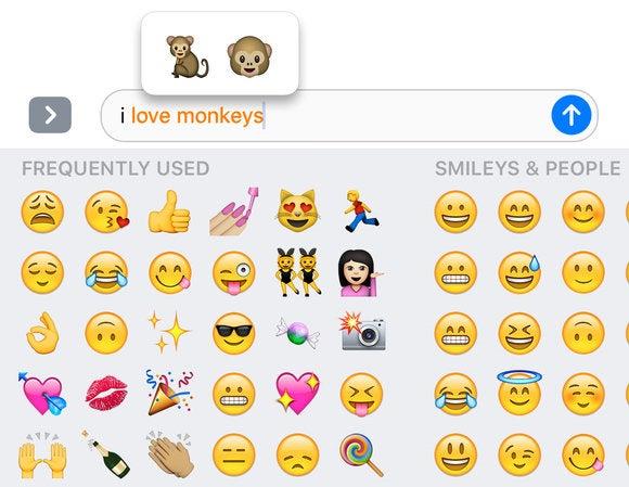 messages ios 10 emoji