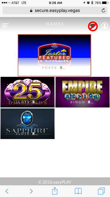 mgm easyplay vegas safari ios