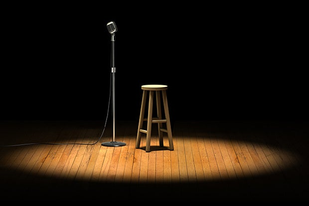 microphone stage stool