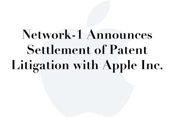 network 1 apple