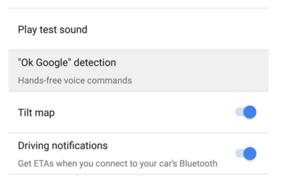 ok google voice