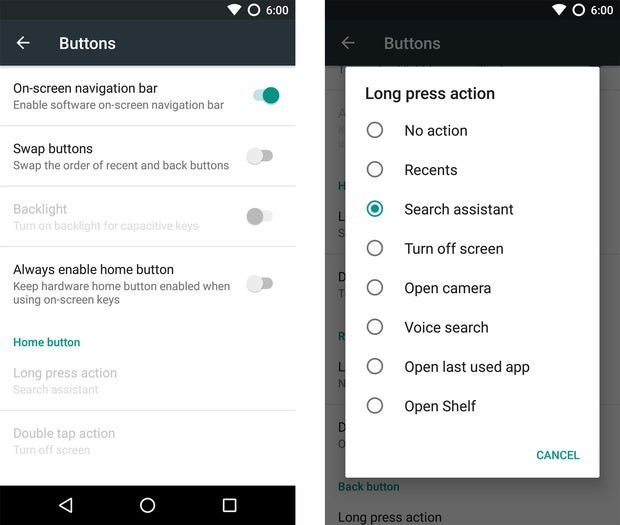 oneplus 3 tips navigation buttons