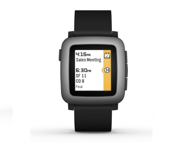 pebble time watch