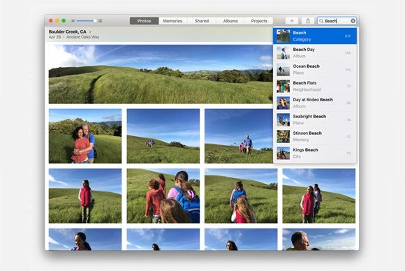 photos mac search