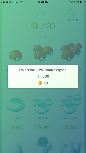 pokemon go rewards