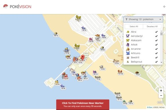 Pokemon Go San Francisco Map The best Pokémon Go map grabs data directly from the Pokémon Go