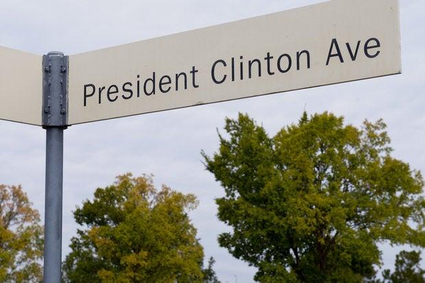 president clinton ts