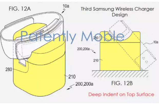 samsung wireless charger patent
