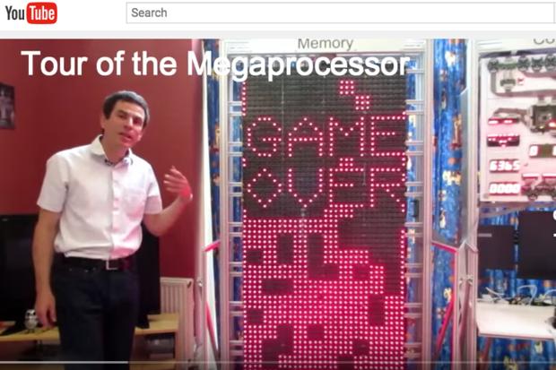 Tetris comes to Megaprocessor