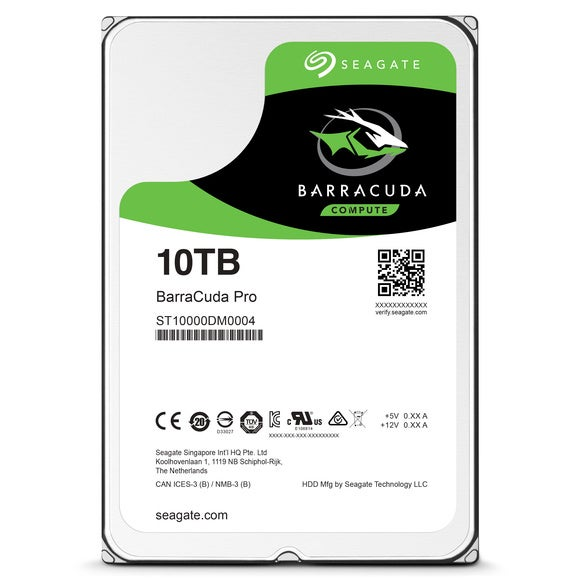 seagate barracuda pro hdd 10tb front