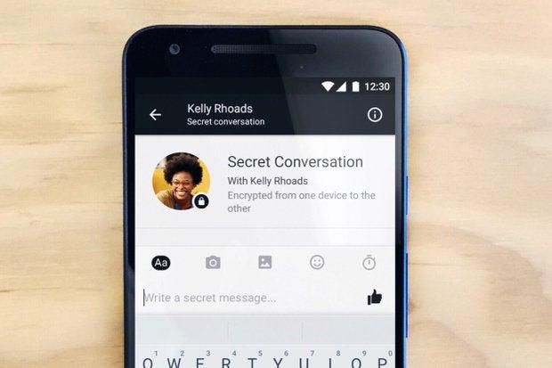 Facebook Allows Secret Messages