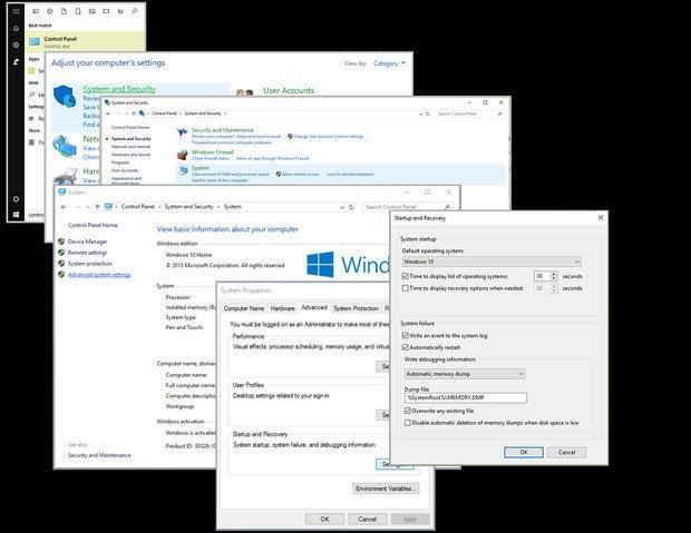 settings process collage.pub