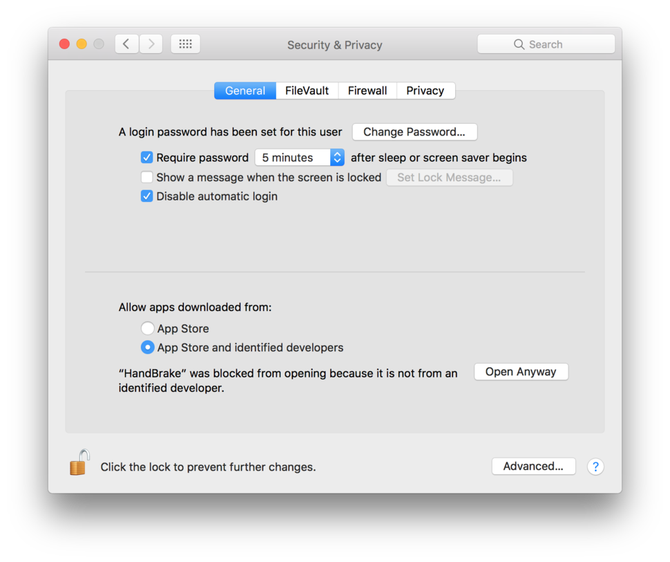 How to run apps that are not from the App Store in macOS Sierra