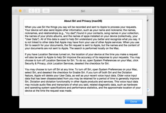siri sierra public beta privacy