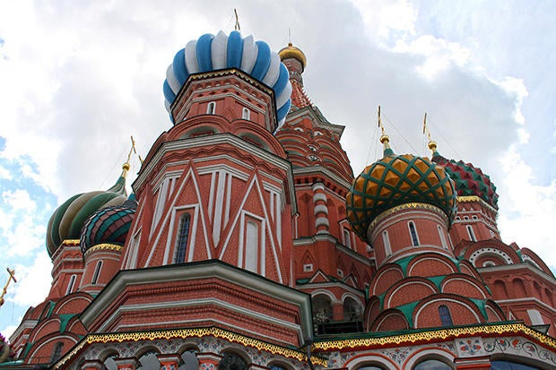 stbasils cathedral moscow russia