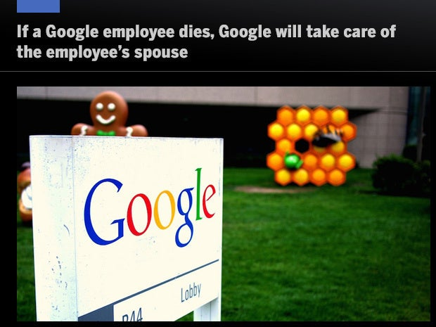 Google death benefits