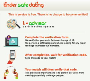 How to stay verified on dating sites