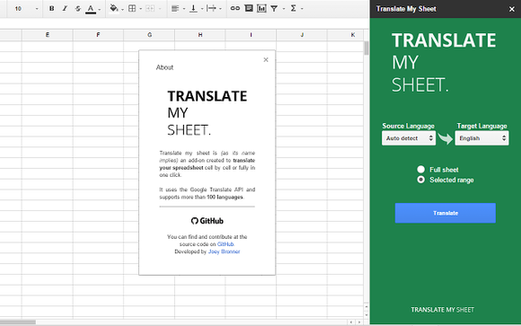 translate my sheet