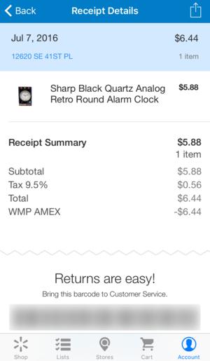 walmart pay receipt