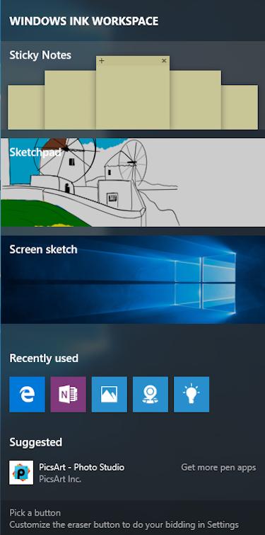 windows 10 au ink