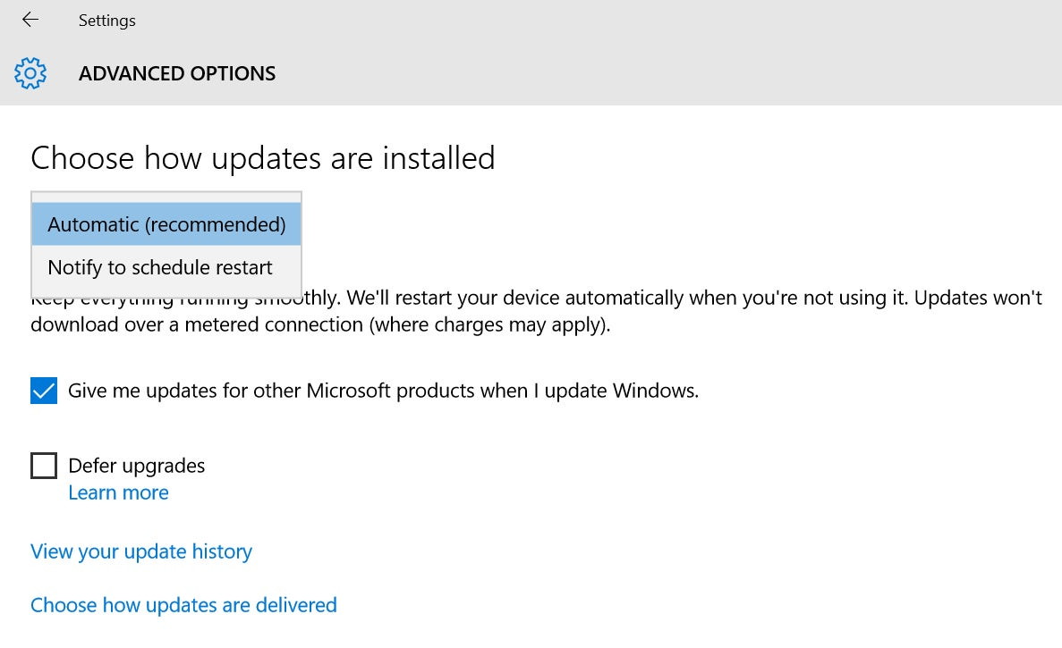 Why hasn t windows 10 downloaded - No Control Over Windows Updates