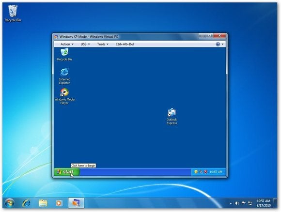 windows xp mode windows 7