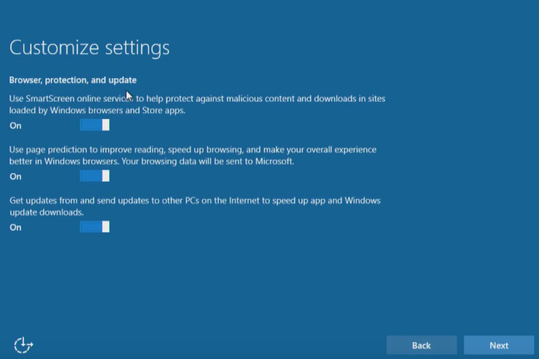 Windows 10 upgrade Express Settings: How to customize them