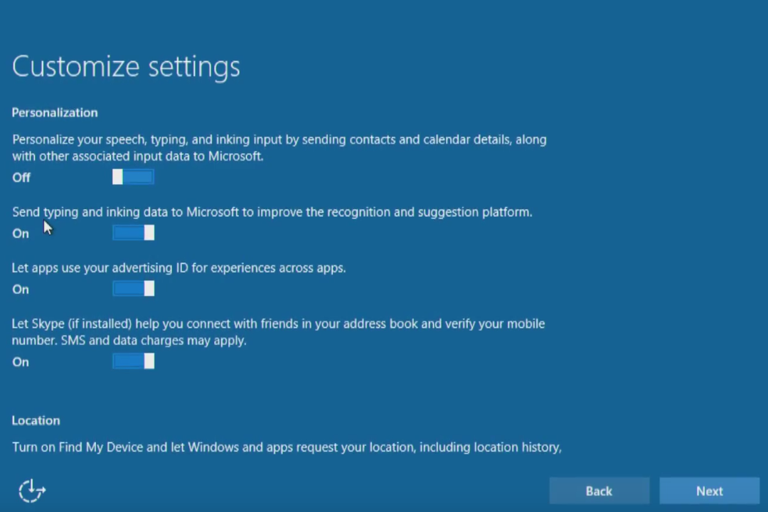 Windows 10 upgrade Express Settings: How to customize them for privacy