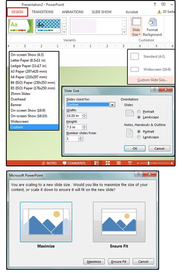 03 create custom sizes for your slides