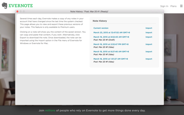09 evernote screenshot