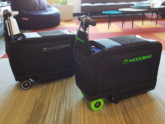 riding modobag the motorized suitcase pcworld