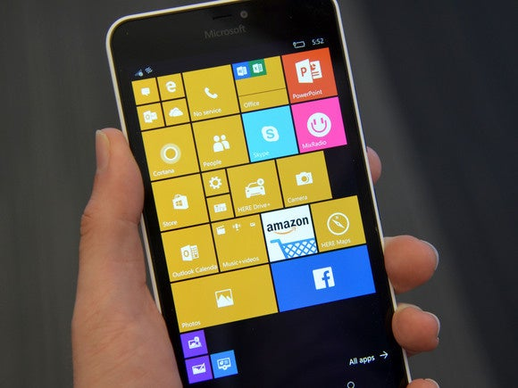 cfcb6c284e8e5 Microsoft points to a transition of Windows 10 Mobile to 64-bit ...