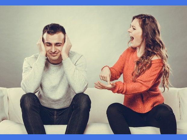 spouses arguing