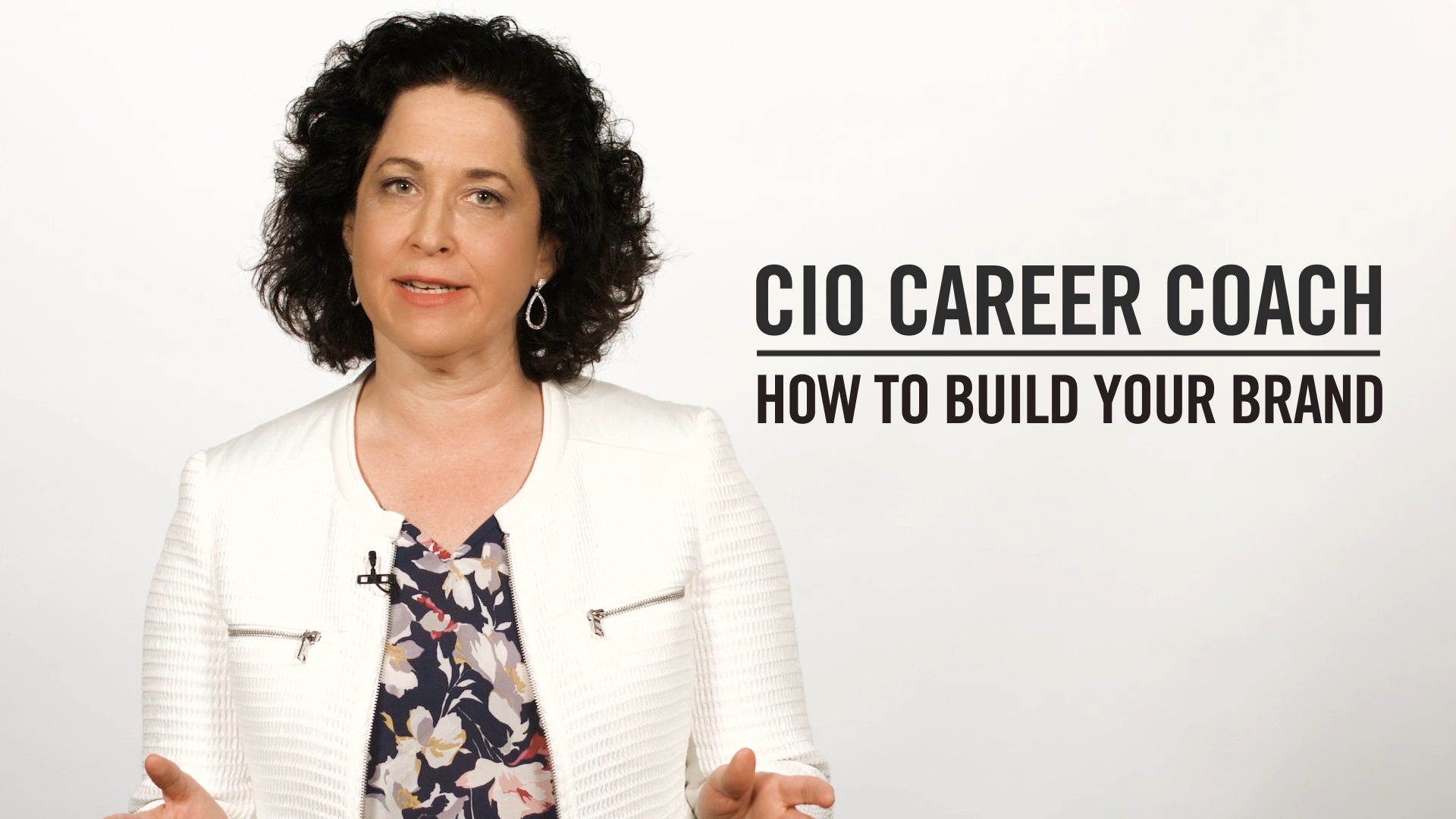 career coach how to ace a job interview video cio career coach how to build your brand career coach how to build