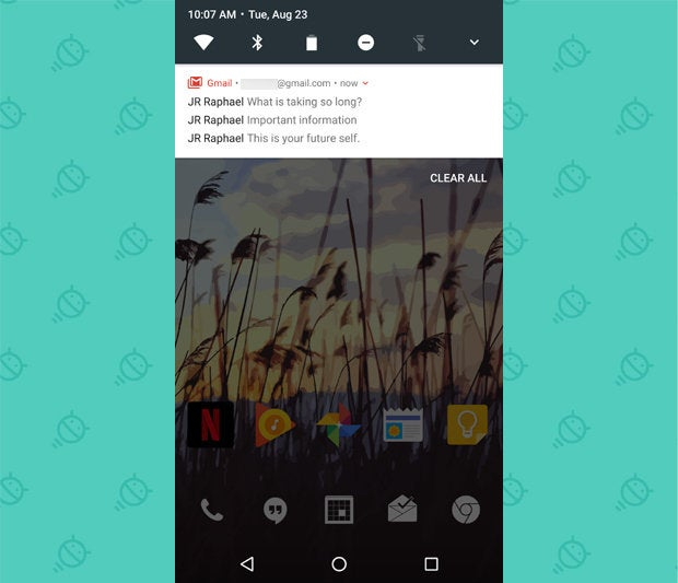 Android 7.0 Nougat - Bundled Notifications