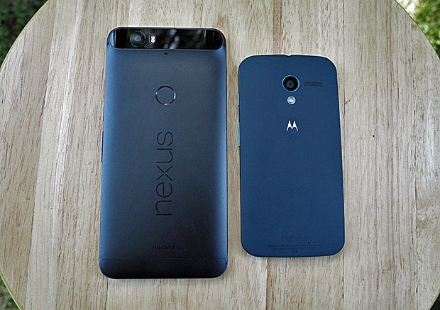 Android Phones: Nexus 6P, Moto X